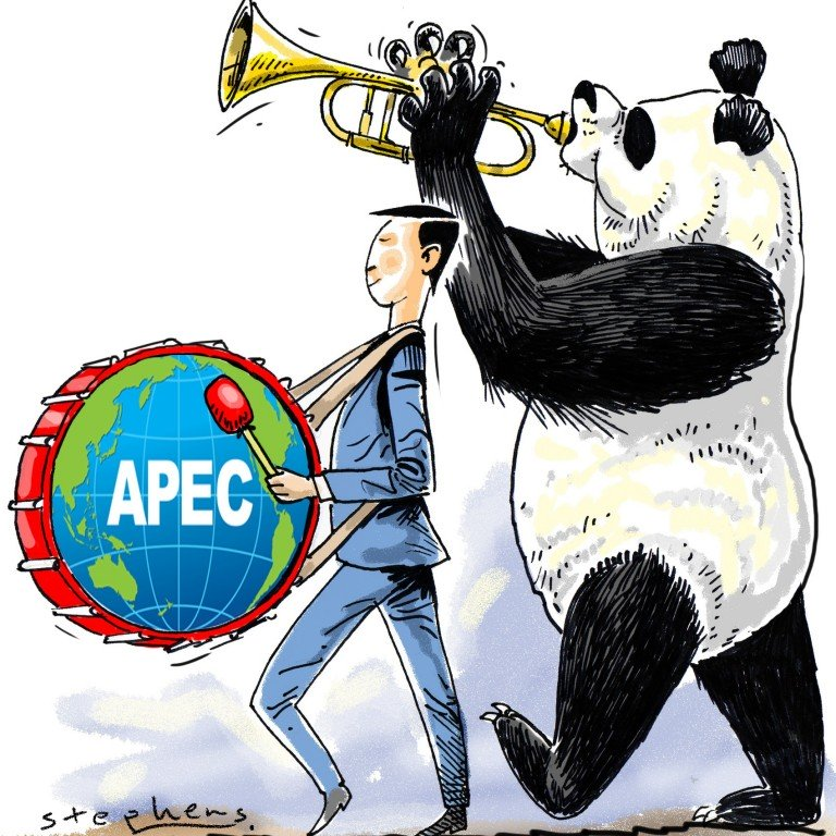 Apec must lead the march for inclusive and sustainable.