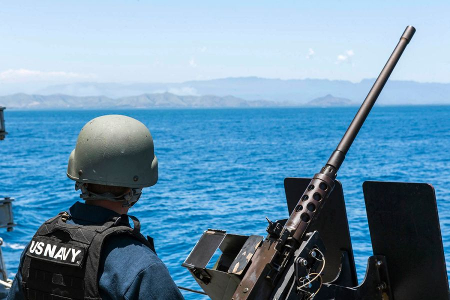 USS Michael Murphy visits Papua New Guinea ahead of APEC summit.