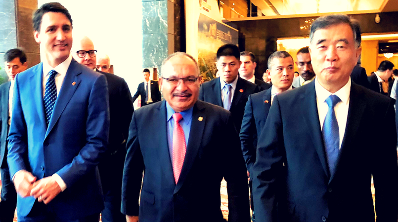 O'Neill invites business leaders to APEC 2018.