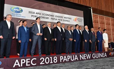 Papua New Guinea Stands up to China.
