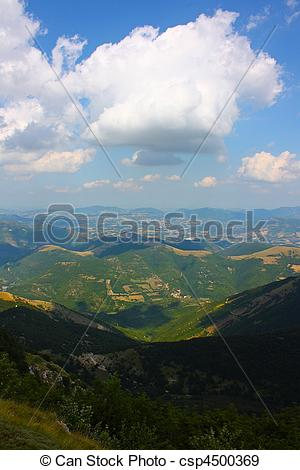 Stock Photographs of Apennines beauty taken in Italy on the Monte.