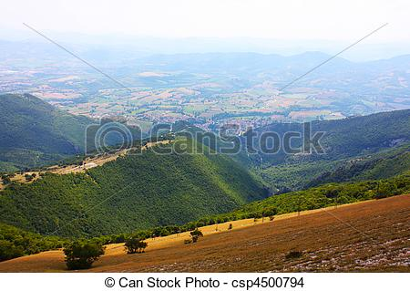 Stock Photo of Apennines beauty taken in Italy on the Monte Cucco.