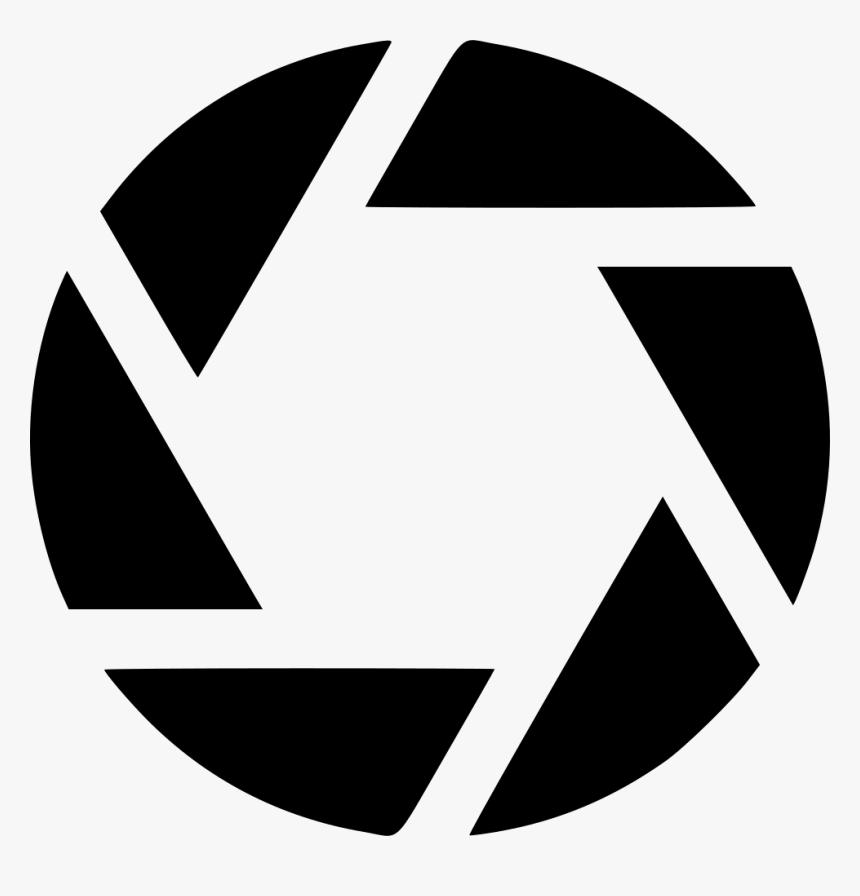 Camera Aperture Logo Clipart , Png Download.