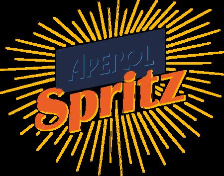 Aperol Spritz vector logo.