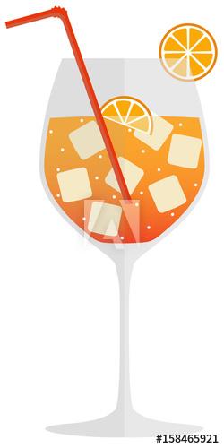 Aperol Spritz Getränk Cocktail.