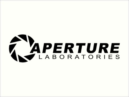\'Portal 2: Aperture Science Logo\' Art Print by Shineytrooper.