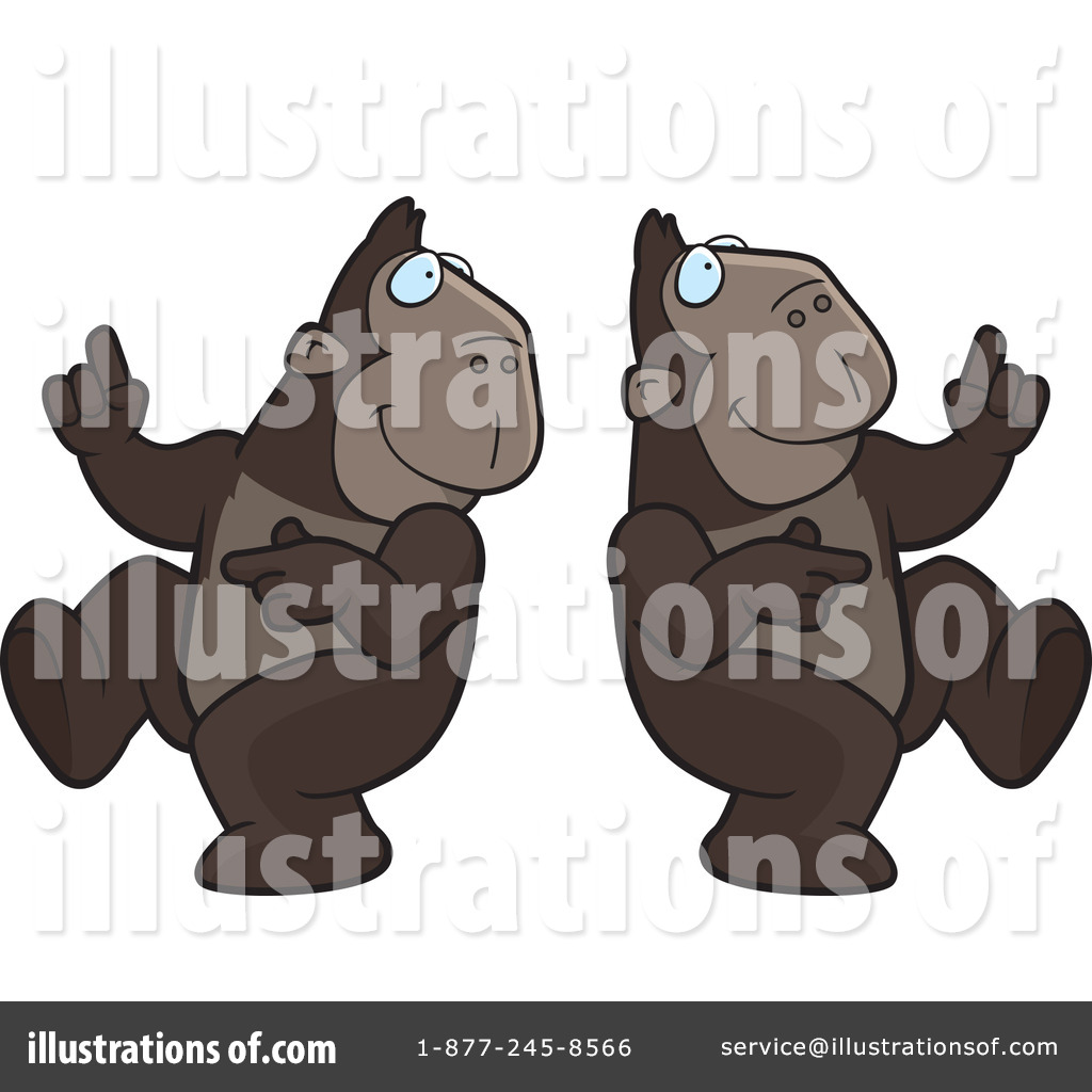 Apes Clipart #214748.