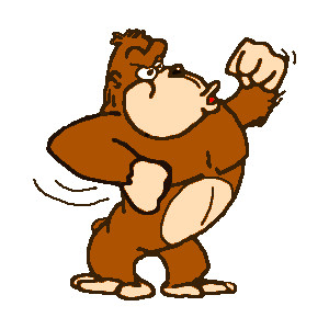 Apes clipart.