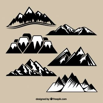 vector mountain.
