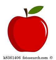 Apple Clip Art EPS Images. 46,578 apple clipart vector.