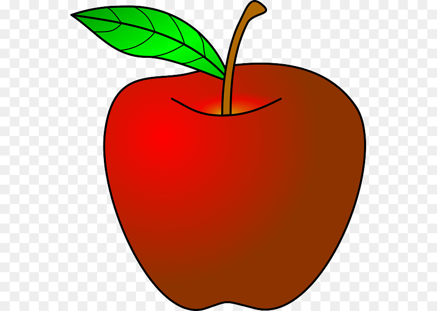 Apfel Red Free content clipart.