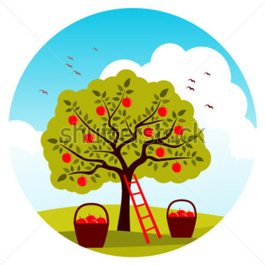 Clip Art Tree Ladder.
