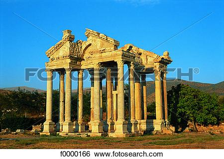 Stock Images of Turkey, The Sebasteion in Aphrodisias f0000166.