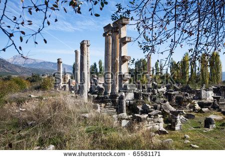 Aphrodisias Aphrodite Temple Stock Photos, Royalty.