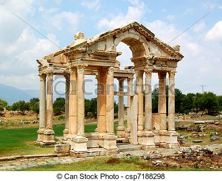 Pictures of Aphrodite's temple.