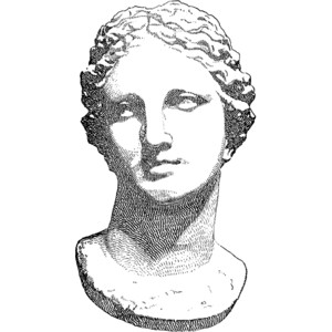 Aphrodite Clipart.