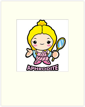 Aphrodite clip art.