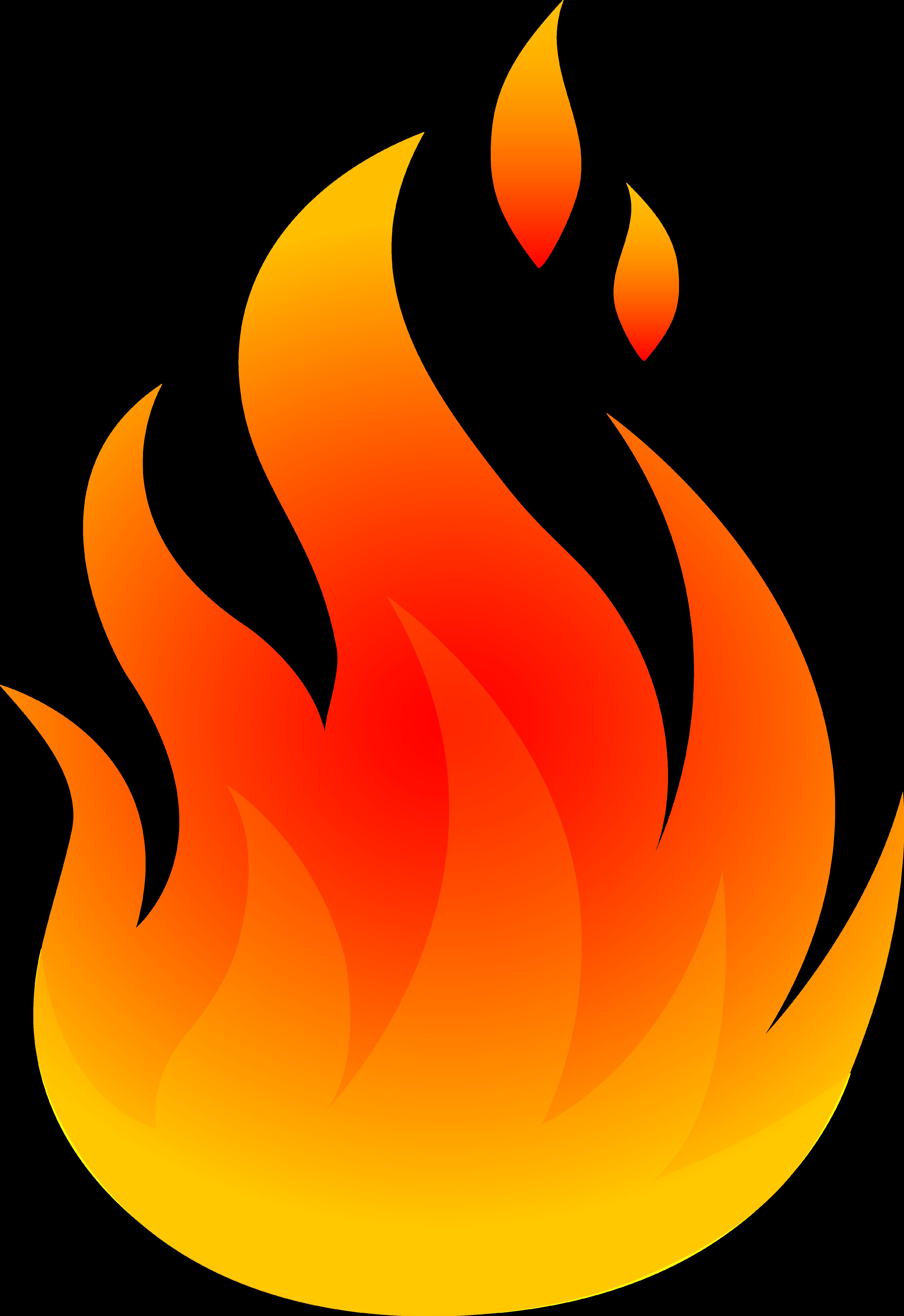 Clip Art Flames Clipart.