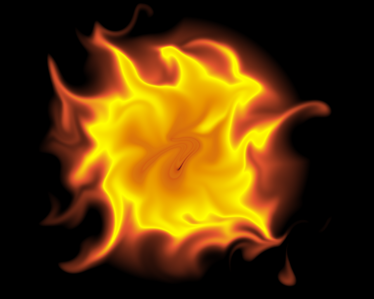 Fireball Hd Image.
