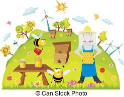 Beekeeping Vector Clipart EPS Images. 1,442 Beekeeping clip art.
