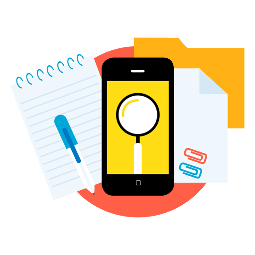 Search smartphone apps.