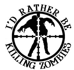 Zombie apocalypse clipart.