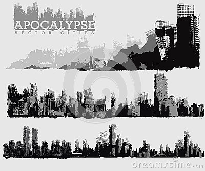 Apocalyptic Stock Illustrations.