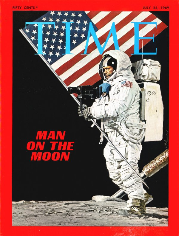 Marking the 50th Anniversary of the Apollo 11 Moon Landing.