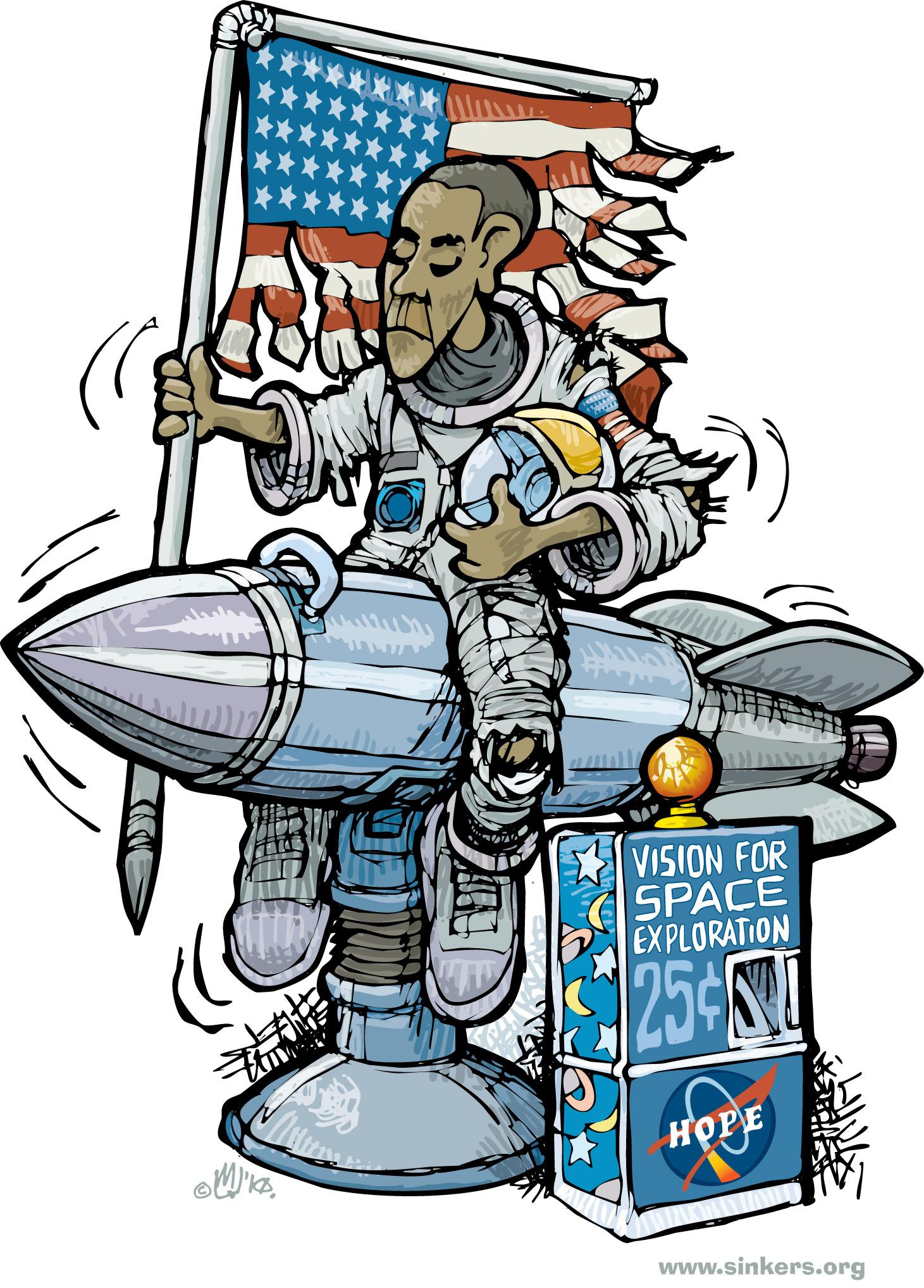 Apollo 11 Cartoon.