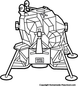 Free Apollo 11 Clipart.