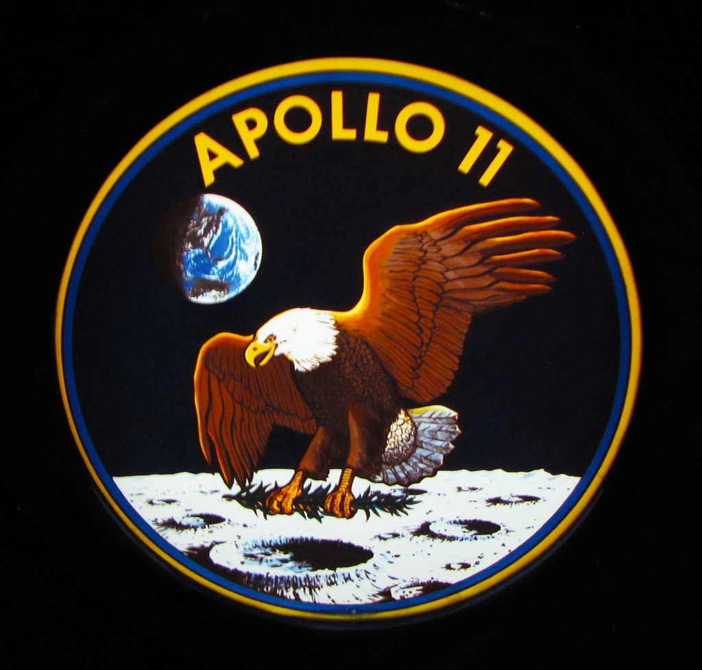 Apollo 11 Logo.