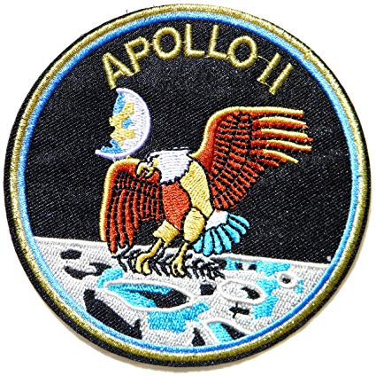 Amazon.com: APOLLO 11 Space Logo NASA Pilot Spacecraft.