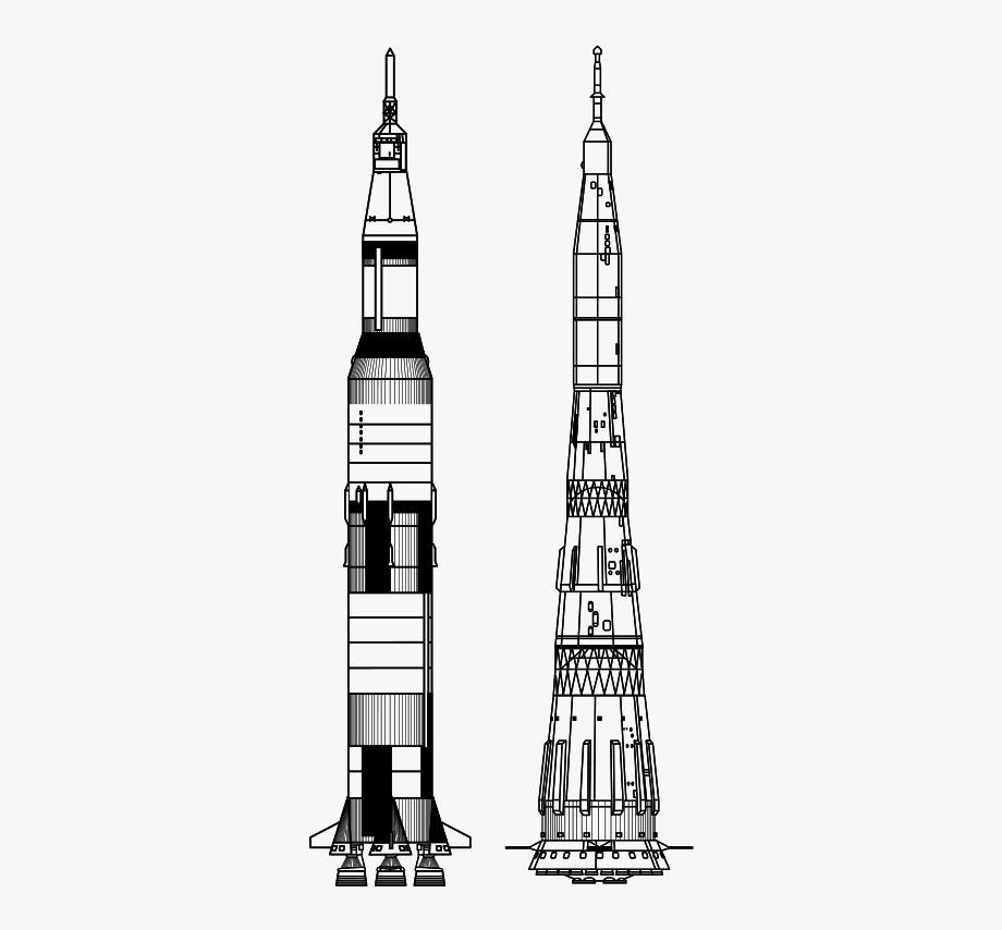 Apollo 11 Spaceship Drawing, Cliparts & Cartoons.