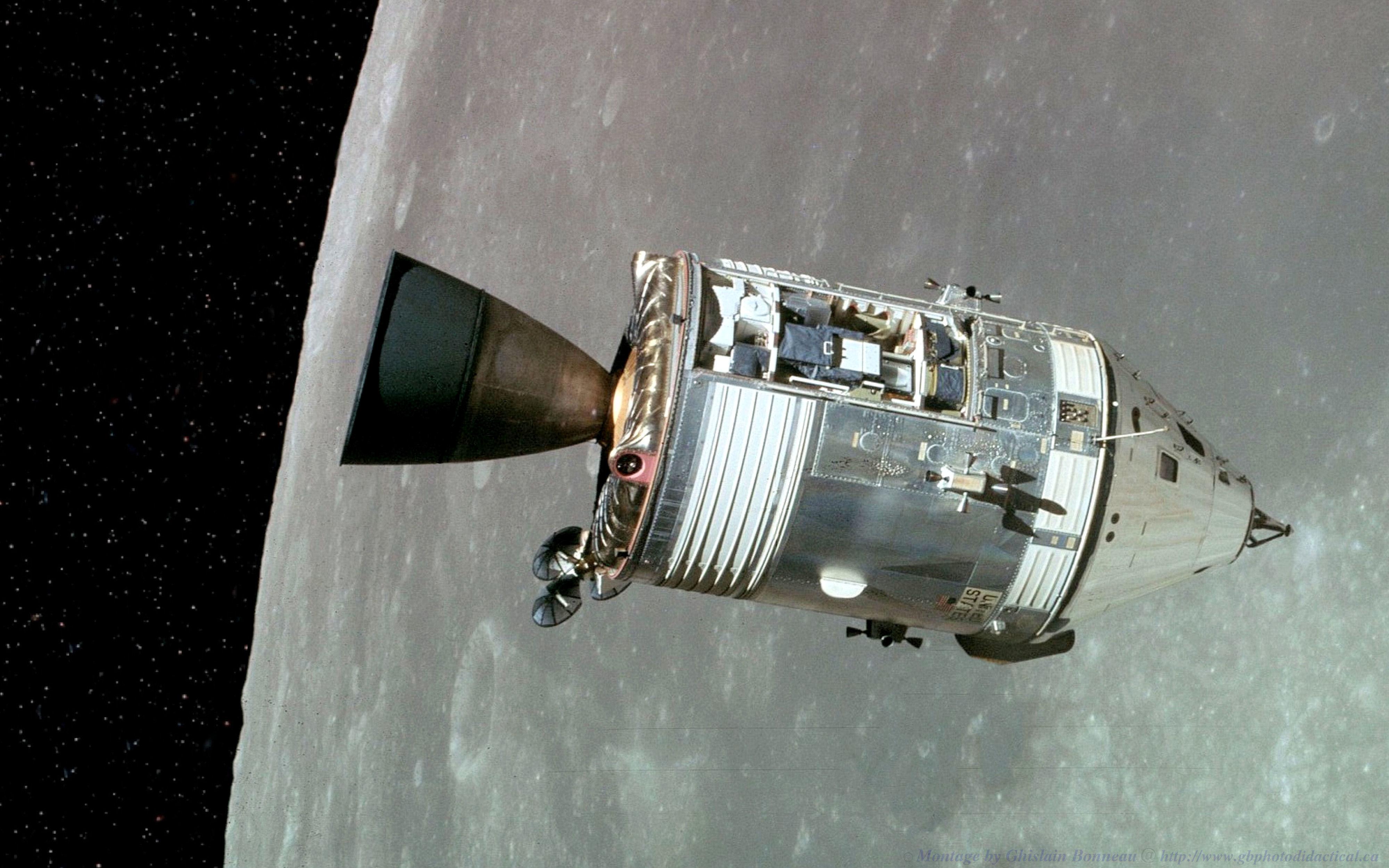Apollo 15 spacecraft.