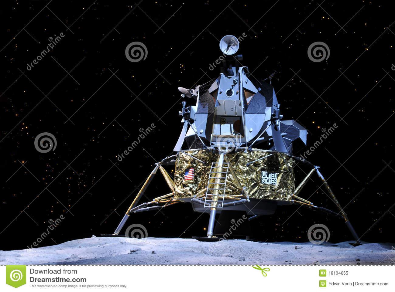 Apollo 17 Lunar Module Editorial Image.