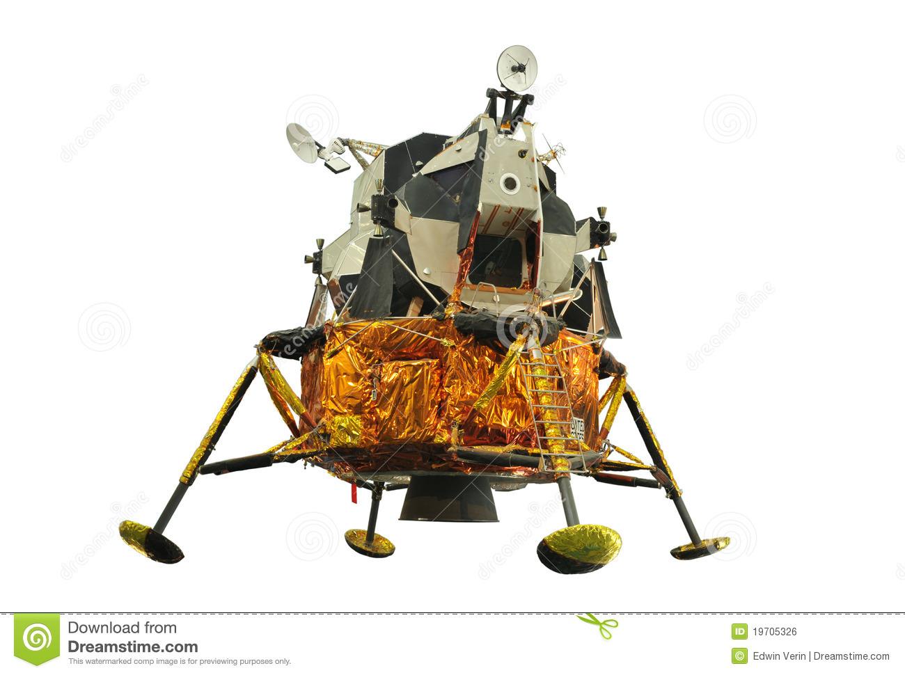 Apollo 17 Royalty Free Stock Image.
