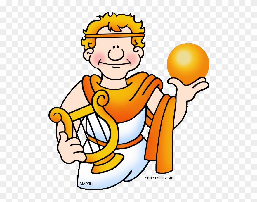 Greek Clipart Apollo God.