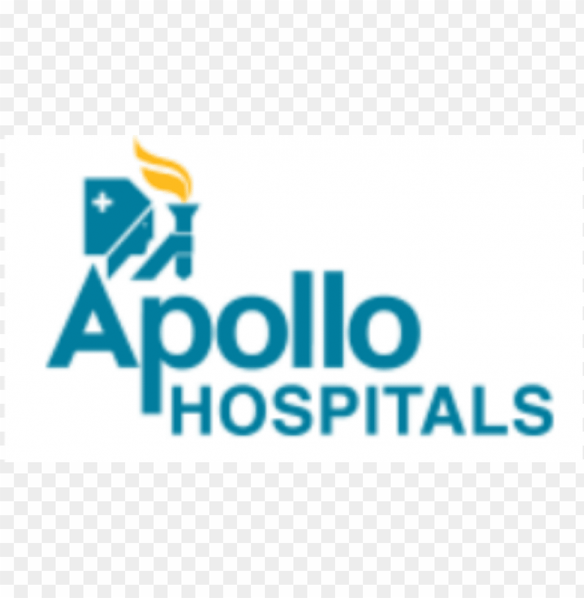 apollo hospital logo PNG image with transparent background.