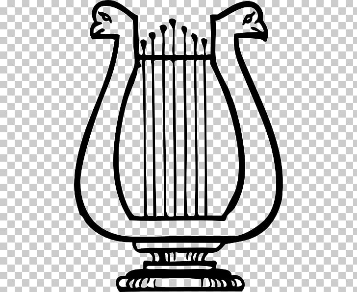 Lyre Musical Instruments , Apollo Harp PNG clipart.