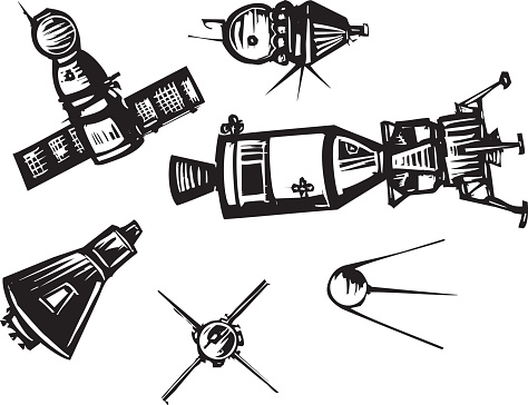 Apollo Space Mission Clip Art, Vector Images & Illustrations.