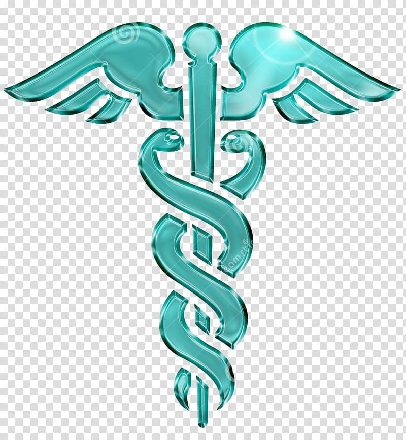 Staff of Hermes Caduceus as a symbol of medicine Pharmacy.