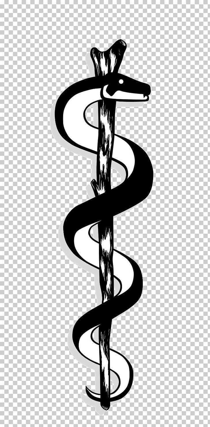 Apollo Rod of Asclepius Staff of Hermes Caduceus as a symbol.