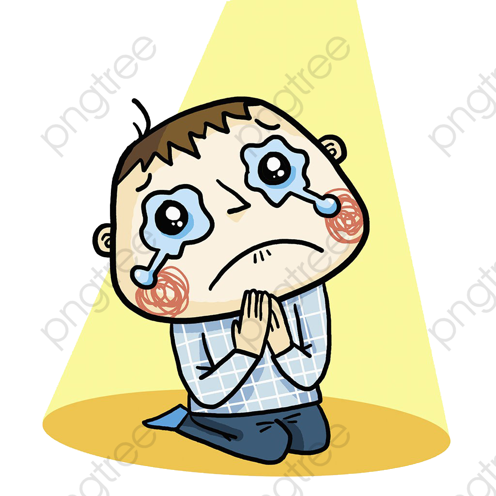 Sad Child, Sad Clipart, Kneel, Apology PNG Transparent Image and.