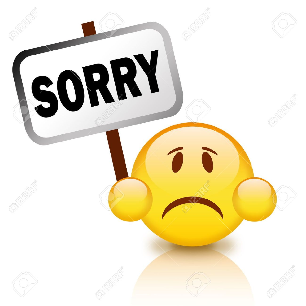 Apology clipart 1 » Clipart Station.