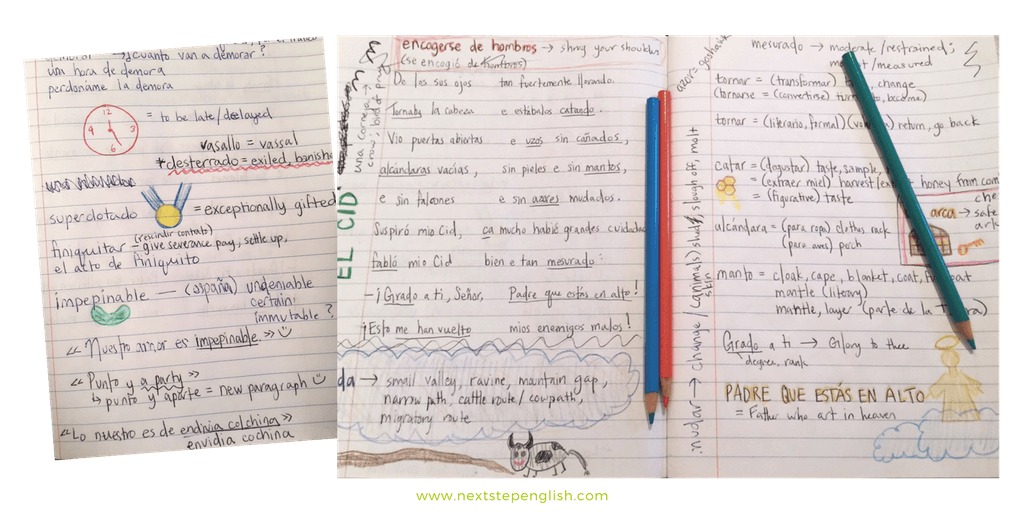 Notebook clipart english notebook, Notebook english notebook.
