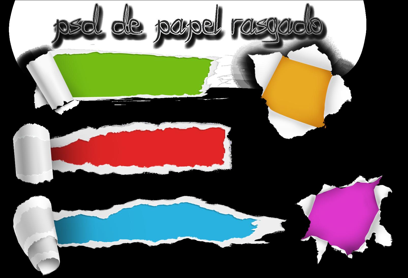 Aporte Papel Rasgado Torn Paper Png Free Download.