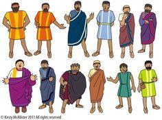 Apostles clip art.