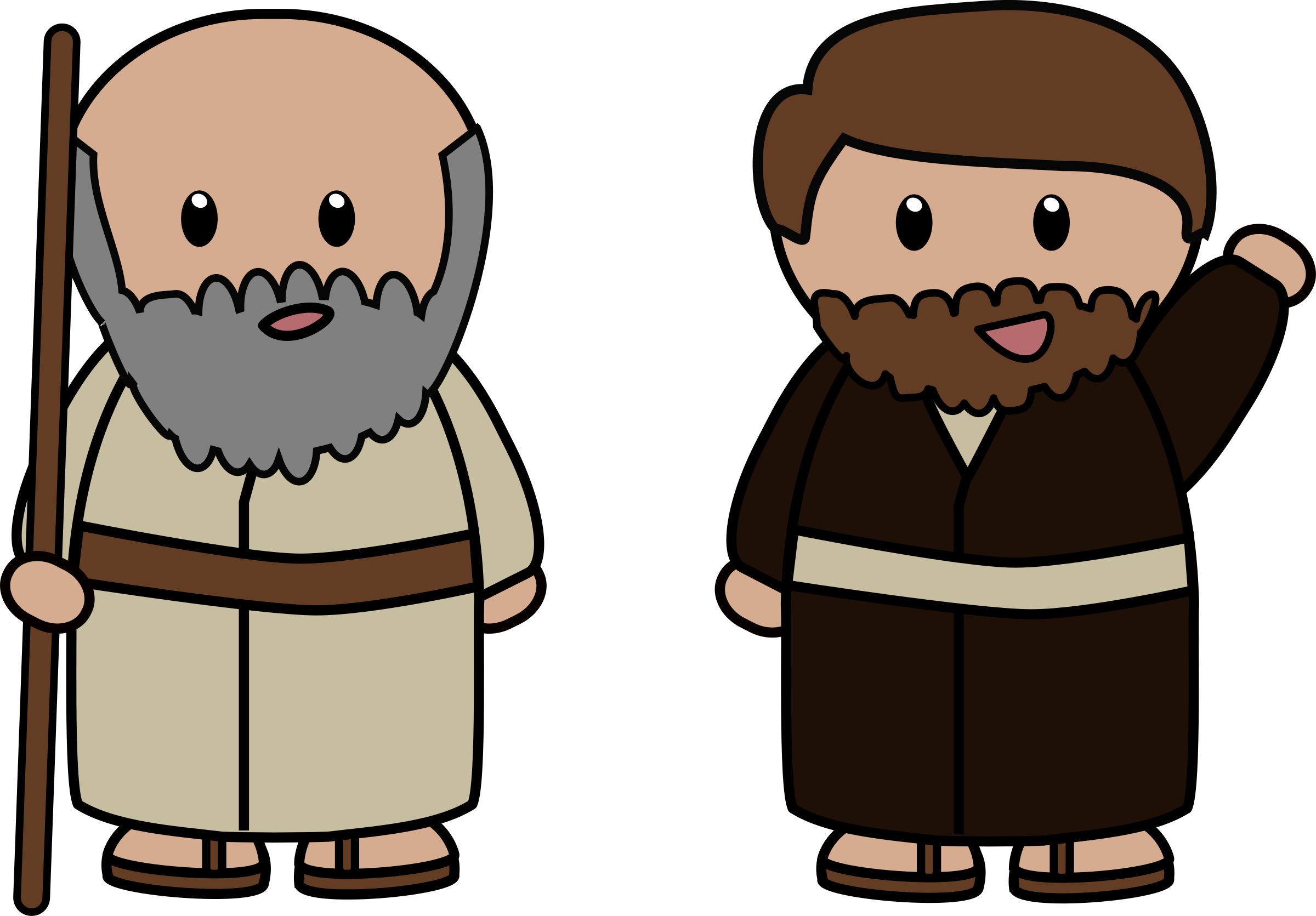 Paul and silas clipart.