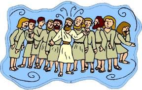 Twelve apostles clipart #11