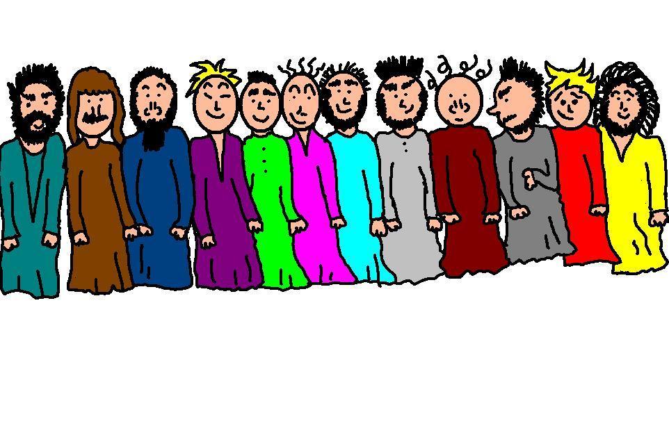 Disciples Clipart.